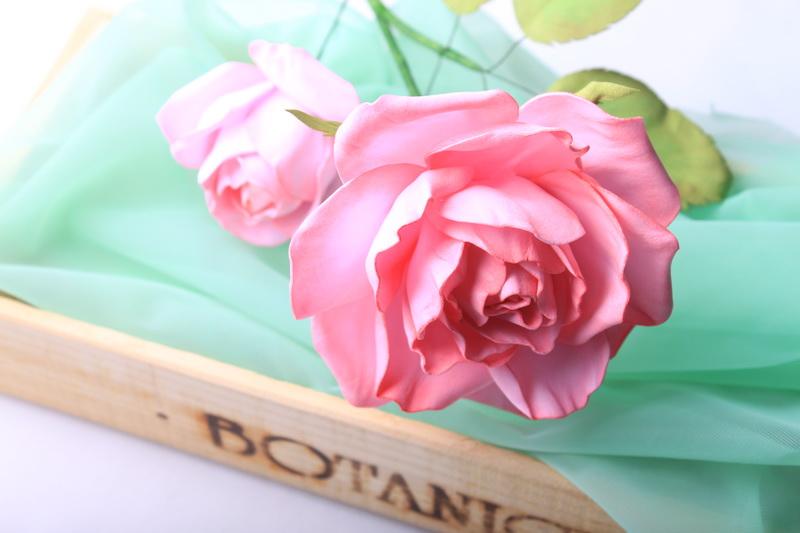 Foamiran - návod na růži - 62