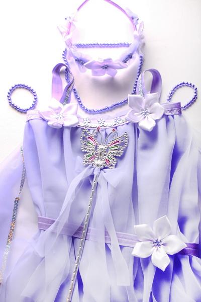 Karnevalový kostým víla - návod - 32