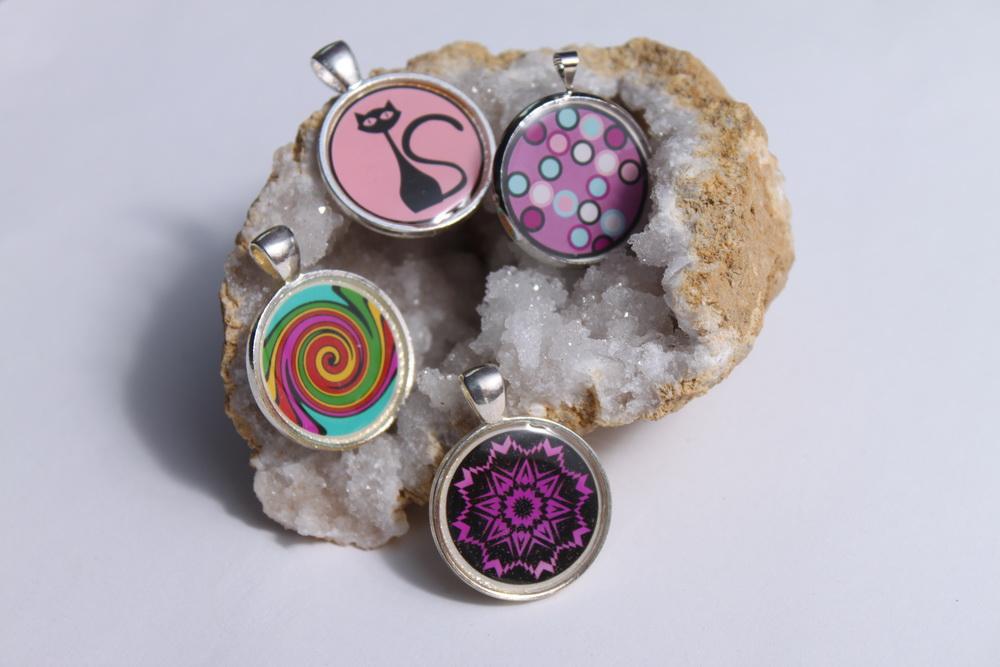 Sada šperků z pryskyřice s motivem - 25
