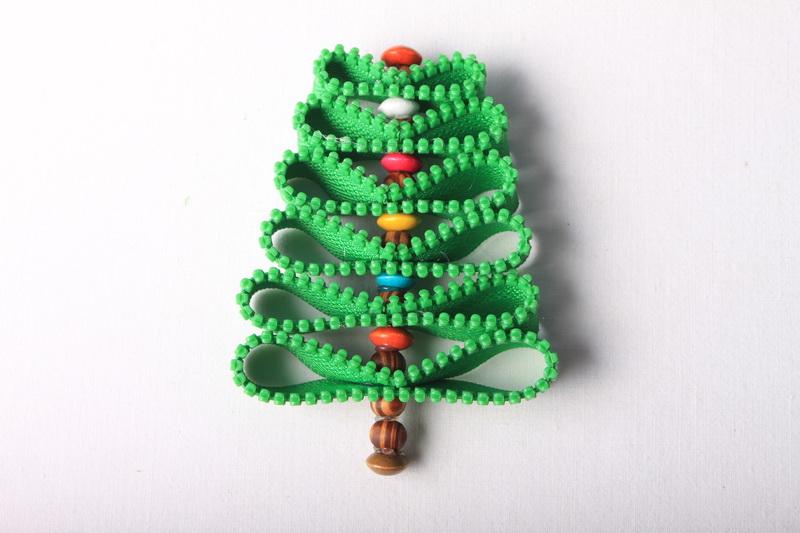 Návod na zipový vánoční stromeček - 8
