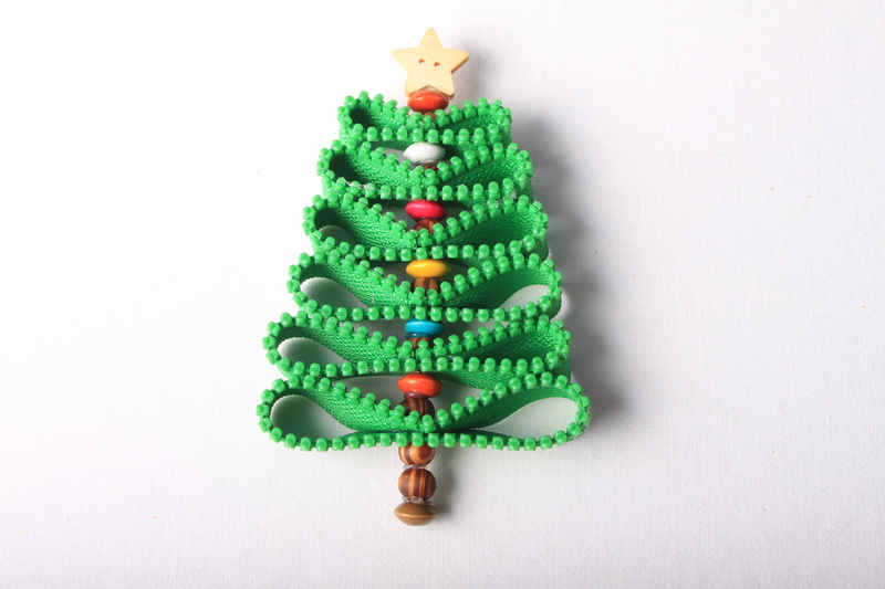 Návod na zipový vánoční stromeček - 9