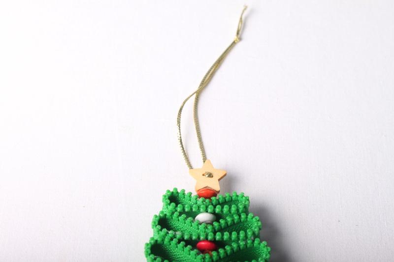 Návod na zipový vánoční stromeček - 10